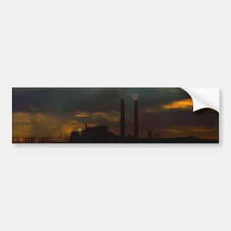 Ominous Power Plant Bumper Sticker