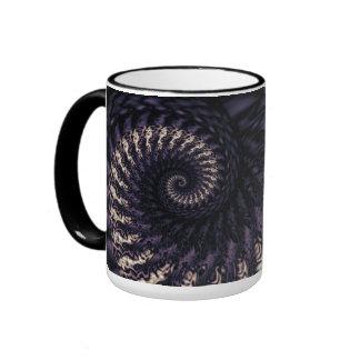 Ominous Swirl Ringer Mug