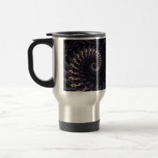 Ominous Swirl Stainless Steel Travel Mug