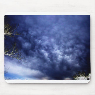 Ominous X-Ray Sky Mouse Pads