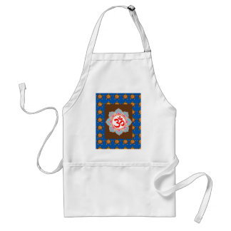OmMANTRA Mantra Art Temple Hinduism Buddhism Bless Standard Apron