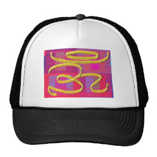 OmMANTRA Mantra Back Print Chant Yoga Meditation Cap