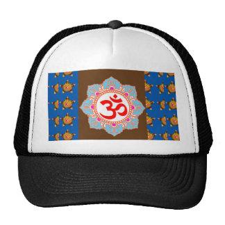 OmMANTRA Mantra Back Print Chant Yoga Meditation Cap