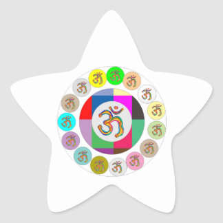 OmMantra OM MANTRA Coins Design Sticker
