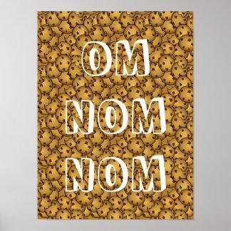 Omnomnom Cookies Print