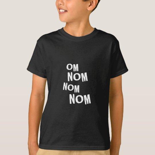omnomnomnom_wht T-Shirt