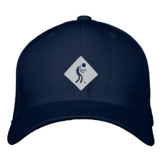 OMSC Fitted Cap Embroidered Hat