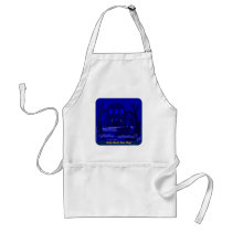 On a Bayou that's Blue Standard Apron