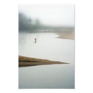 On A Foggy Morning. Photograph