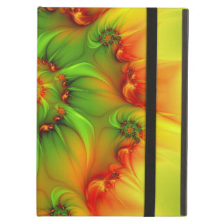 On A Hot Summer Day Abstract And Colorful Fractal iPad Air Case