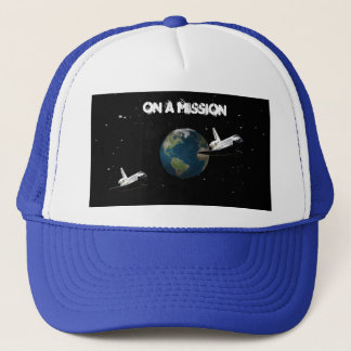 on a mission cap by highsaltire
