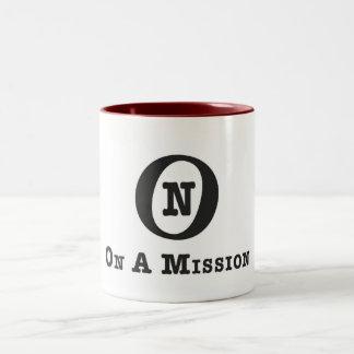 On A Mission mug