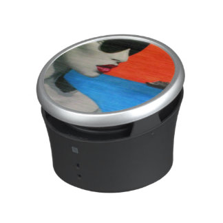 On a Shore painting on a Bumpster Speakers Speaker