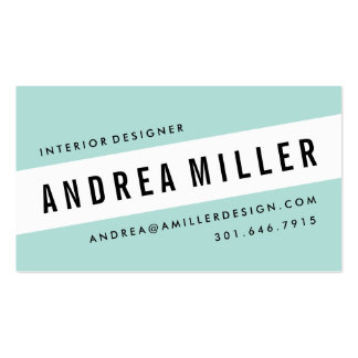 /Interior Designer Business Cards