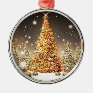 On a White Christmas Count Your Blessings Christmas Ornament