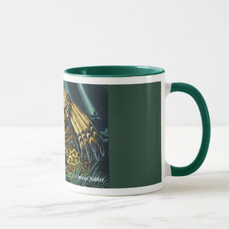On Alert Winged Jaguar Mug