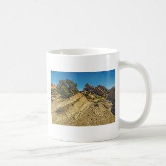 On Approach to Vasquez Rocks Coffee Mugs