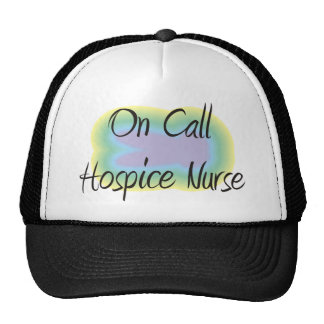 On Call Hospice Nurse Gifts Mesh Hat