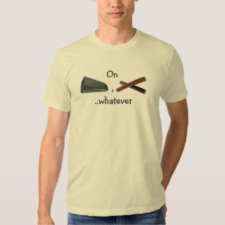On Clave, Cowbell, whatever Tshirts