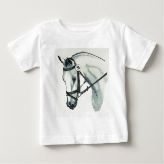 On Contact WHITE Dressage Horse T-shirt