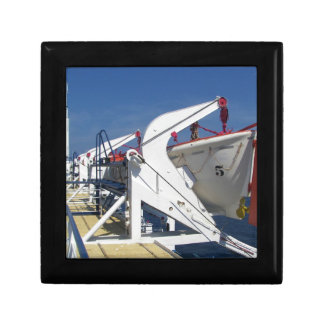 On Deck Small Square Gift Box