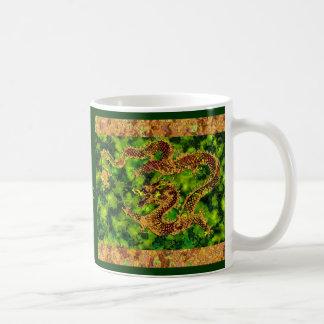 On Emerald Flames Mug