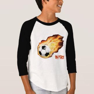 On Fire for Soccer T-Shirt