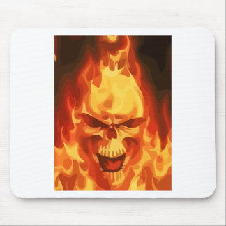On Fire Mouse Mat