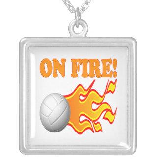 On Fire Pendants