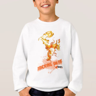 ON FIRE TRICKING SWEATSHIRT