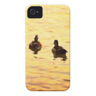 On Golden Duck Pond iPhone 4 Covers