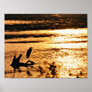 On golden lake poster