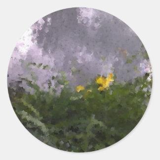 On Golden Pond Classic Round Sticker