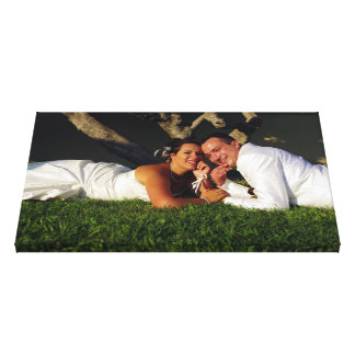 on grass canvas prints