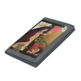 On Heaven's Door by APPLEARTCOM Tri-fold Wallet
