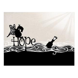 On Hope & Butterfly Wings, it's a Postcard. Postcard