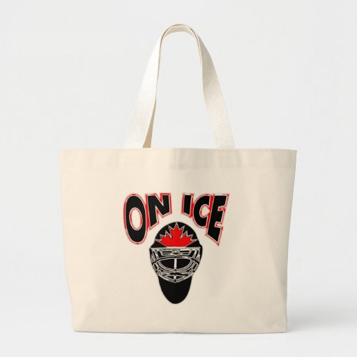 On Ice Logo-Black Mosaic Bags
