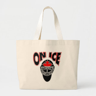 On Ice Logo-Black Mosaic Jumbo Tote Bag