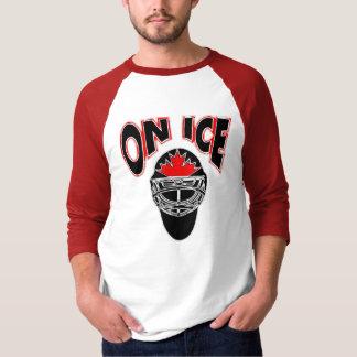 On Ice Logo-Black Mosaic Shirts