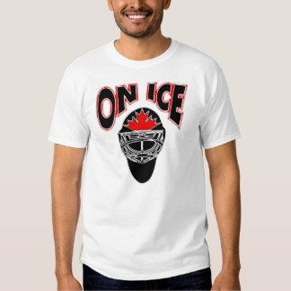 On Ice Logo-Black Mosaic T Shirt