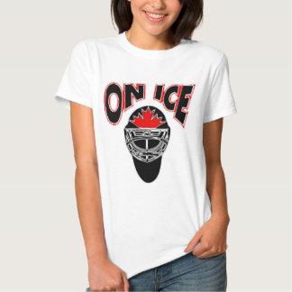 On Ice Logo-Black Mosaic T-shirts