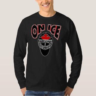 On Ice Logo-Black Mosaic Tee Shirt