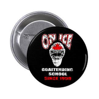 On Ice-Thrash Logo 6 Cm Round Badge
