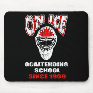 On Ice-Thrash Logo Mousepad