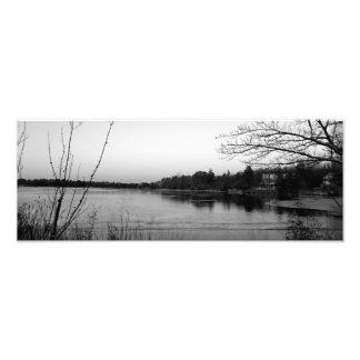 On Lake Atzion Photo Print