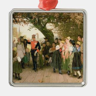 On Leave, 1883 Christmas Ornament