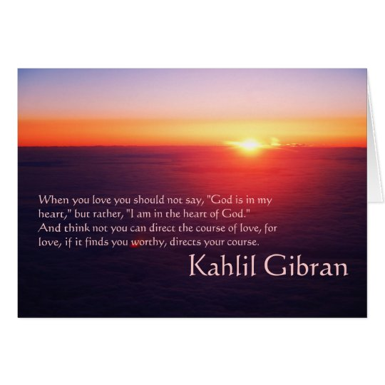 On Love - The Prophet by Kahlil Gibran