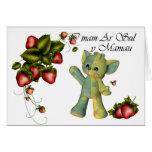 On Mothers Day, I mam Ar Sul y Mamau , Welsh Langu Greeting Card