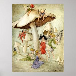 On Mushroom Hill - Print