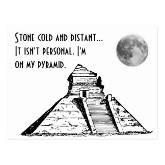 """On My Pyramid"" Haiku Postcard"